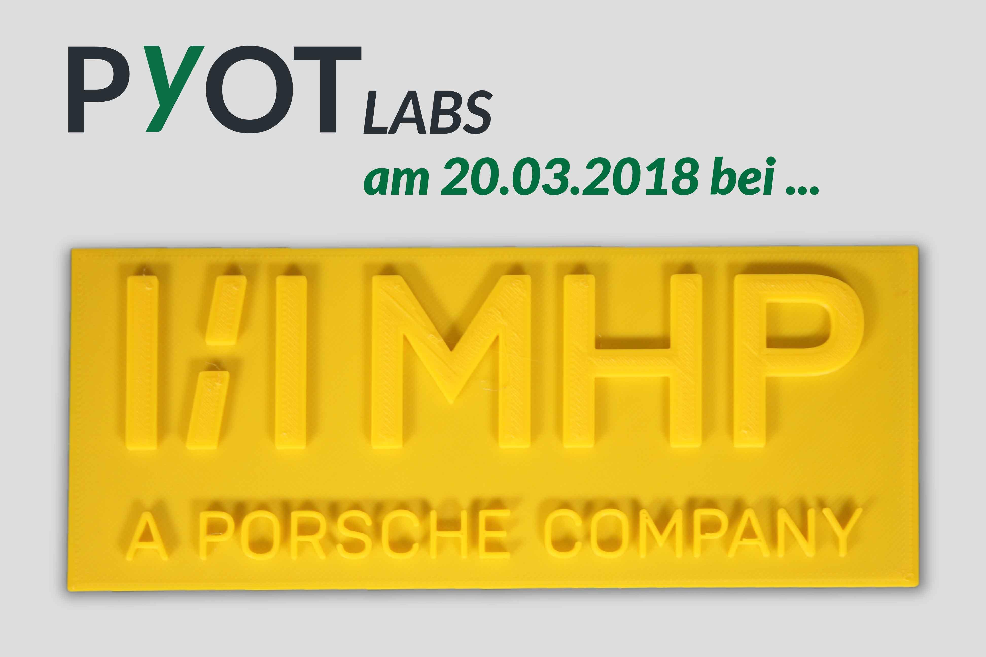 3D Drucker Messe bei MHP - A Porsche Company